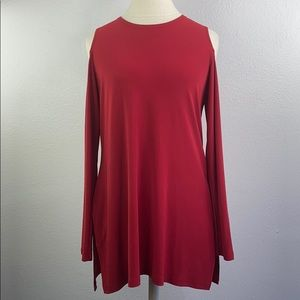 Simpli red blouse, size 6
